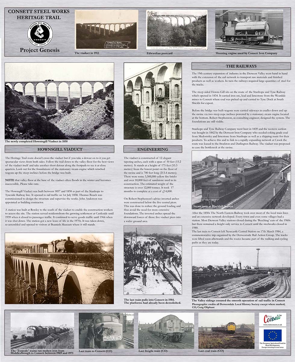 History Artwork - Viaduct