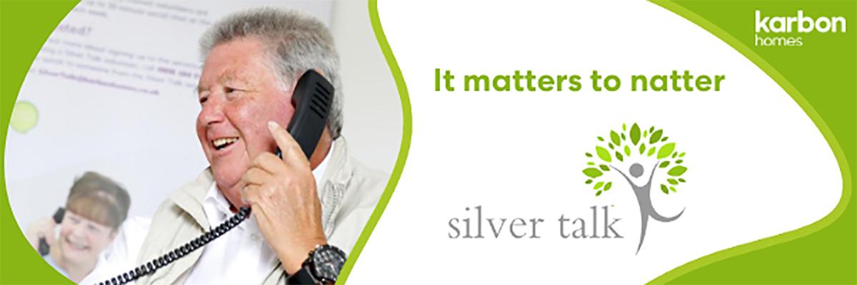 Silver Talk Advert Image