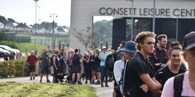 Hundreds take part in Consett's Steel Town 20 walk