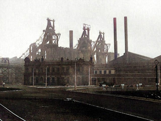 History of Consett Steelworks