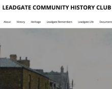 Leadgate Community History Club – Website Revamp