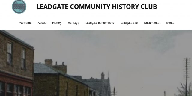 Leadgate Community History Club – Website